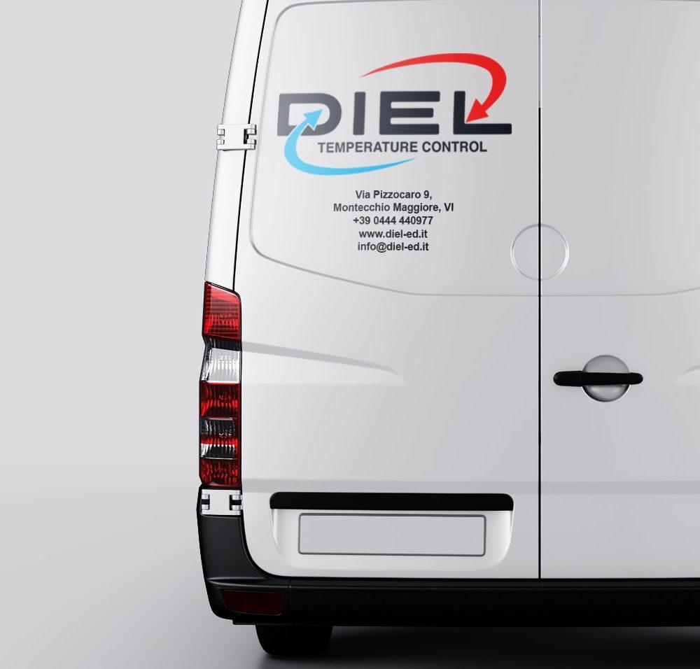 Diel furgone orizzontale 1700 Fivesix Studio Agenzia di comunicazione Vicenza