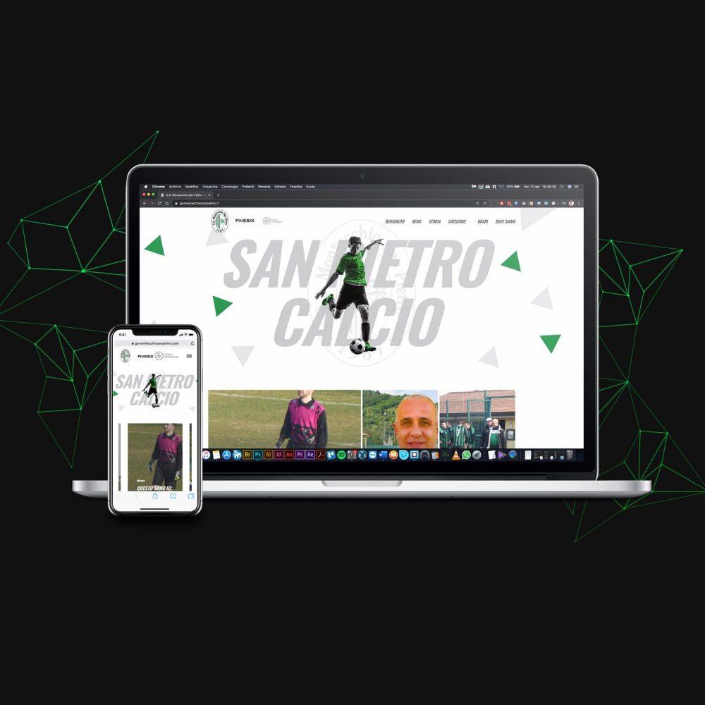 Brand Identity San Pietro mobile e website